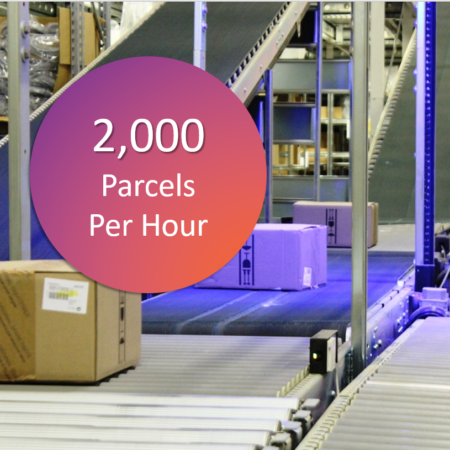 Scaletronic M505 2000 parcels per hour