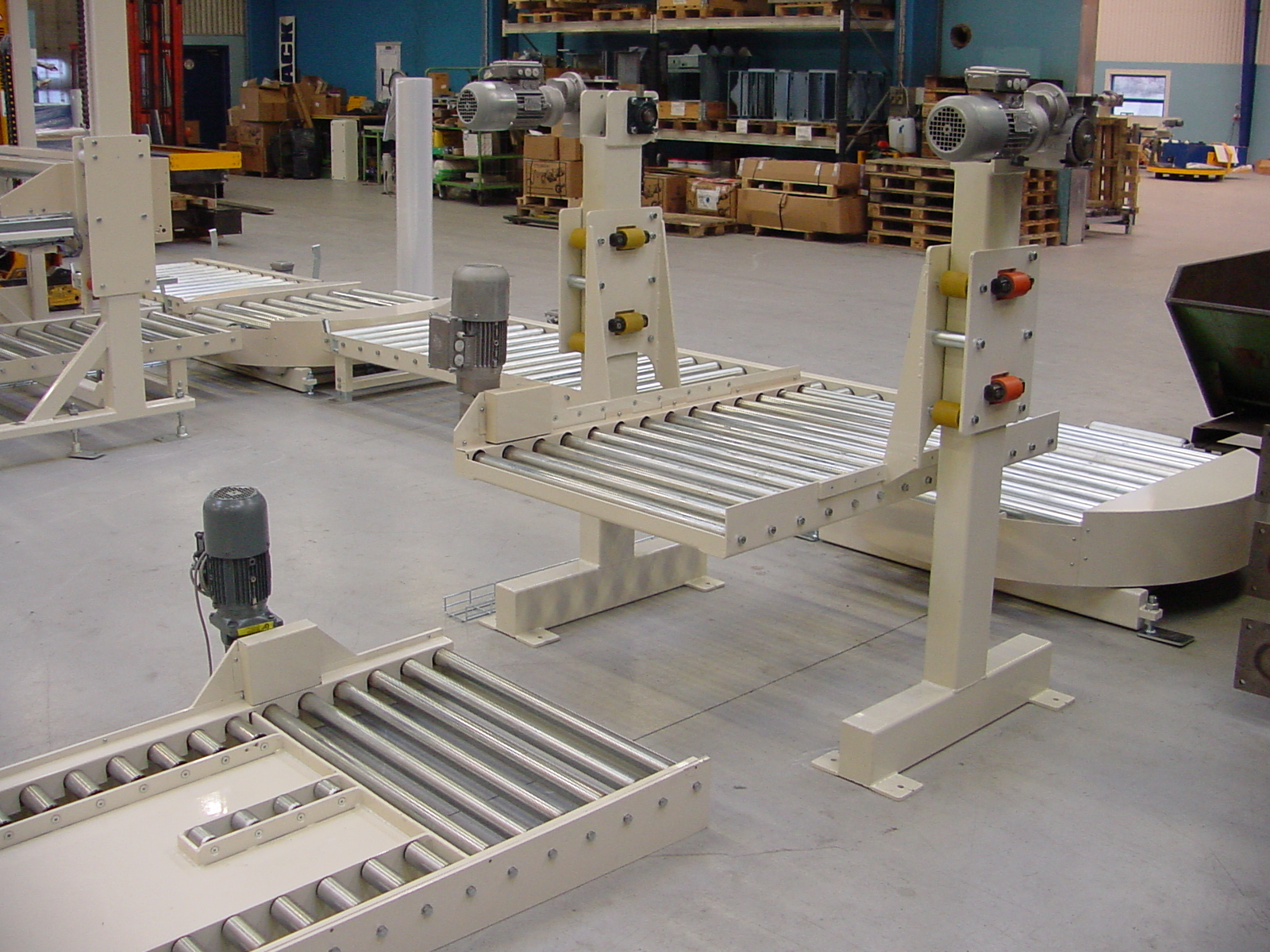 Pallet Lift Table Dimension Scanner By Scaletronic