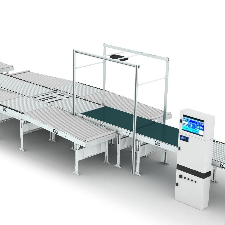 Scaletronic M505 Dimension Scanner with sorter