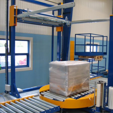 Automatic Stretch Wrapping Machines Scaletronic