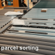 Scaletronic small parcel sorting